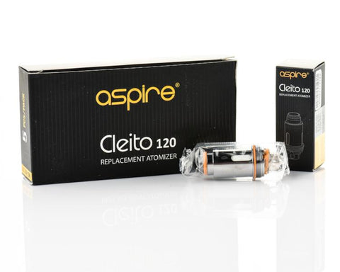 Aspire Cleito 120 Coils (5 Pc)