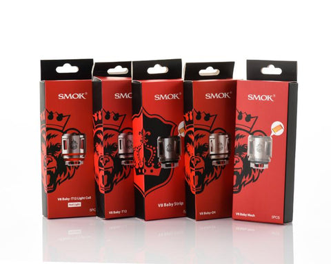 SMOK V8 Baby-Q4/T12/Mesh/Strip (5 Pc)