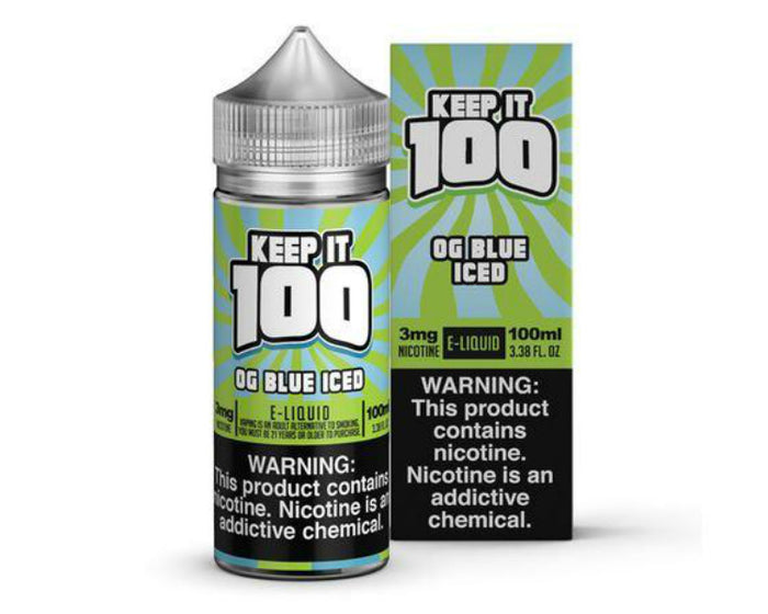 Keep It 100 - OG Blue ICED (100mL)