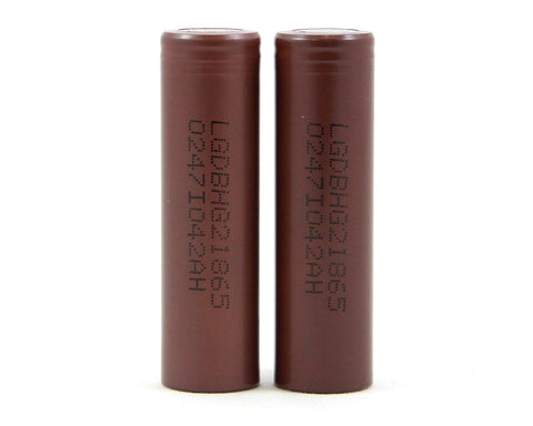 LG HG2 18650 3000mAh Batteries (2 Pc)
