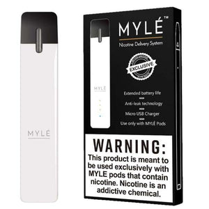 Myle Pod Starter Kit Elite White