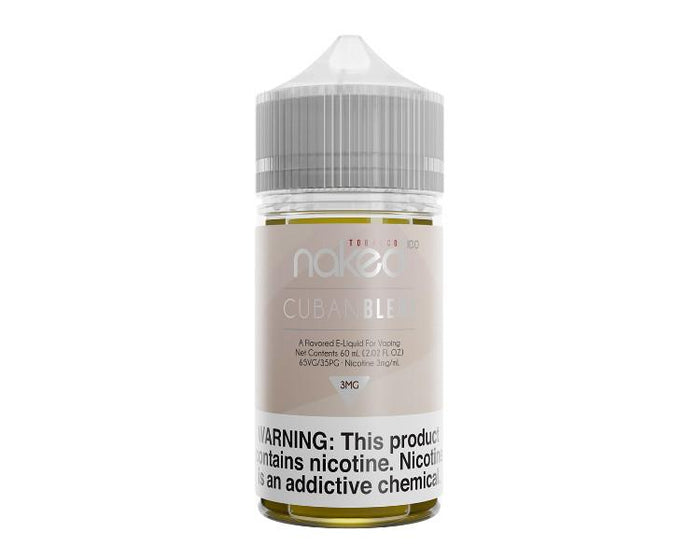 Naked 100 - Cuban Blend (60mL)