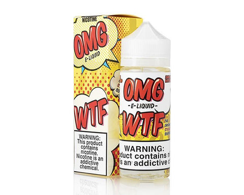 OMG WTF - Strawberry Sourbelt (120ml)