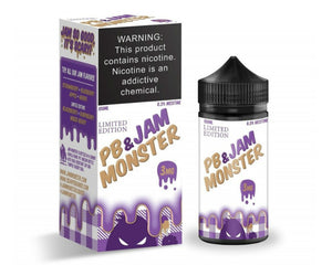 Jam Monster - PB & JAM Grape (100ml)