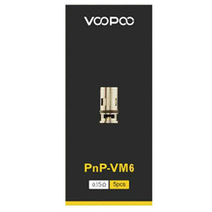 VOOPOO PnP Replacement Coils (5 Pc) - VM6