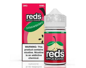 7 Daze - Reds Apple Strawberry (60ml)