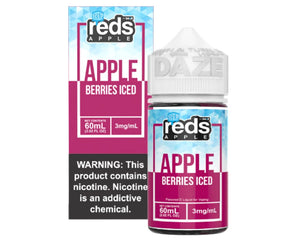 Reds E-Juice - Apple Berries Iced (60mL)