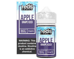 Reds E-Juice - Apple Grape Iced (60mL)