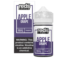 Reds E-Juice - Apple Grape (60mL)