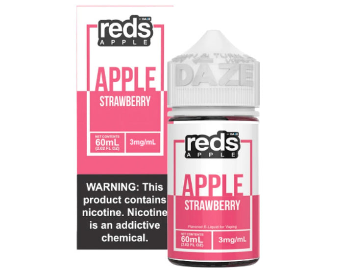 Reds E-Juice - Apple Strawberry (60mL)