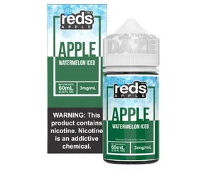Reds E-Juice - Apple Watermelon Iced (60mL)