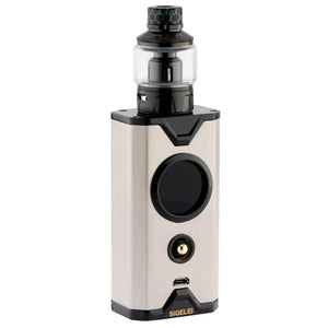 Sigelei CHRONUS SHIKRA 200W TC Starter Kit - bLACK sTAINLESS