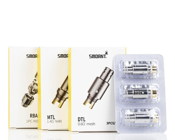 Smoant PASITO Replacement Coils & RBA