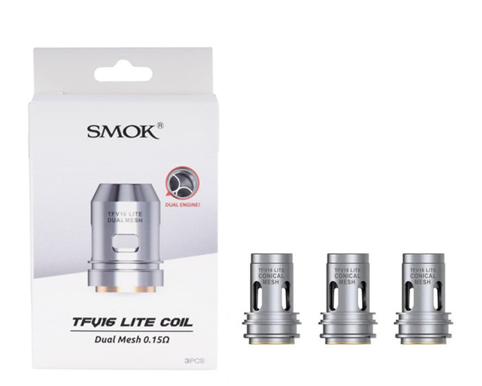 SMOK TFV16 Lite Replacement Coils (3 Pc)