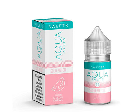 Aqua Salt - Sour Melon 30ml