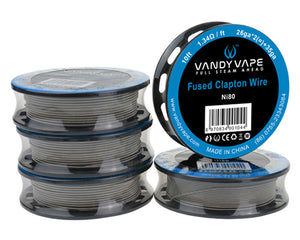 Vandy Vape SS Clapton SS316L Wire (10 Ft.)