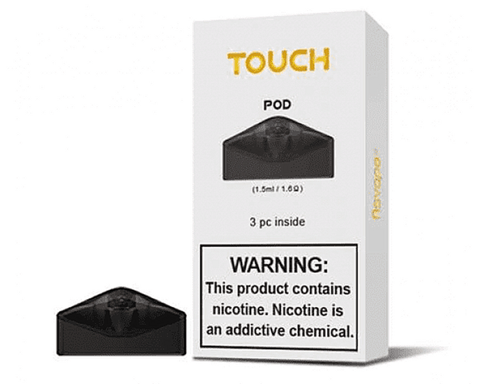 AsVape Touch Replacement Pod Cartridges (3 Pc)