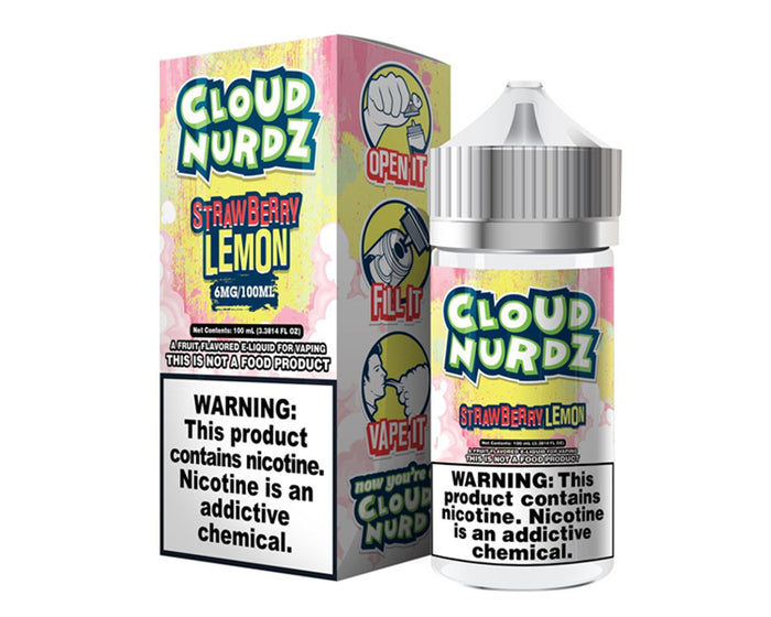 Cloud Nurdz - Strawberry Lemon (100mL)