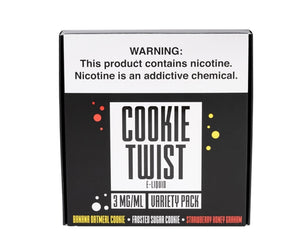 Cookie Twist - Variety Pack (3 x 60mL)