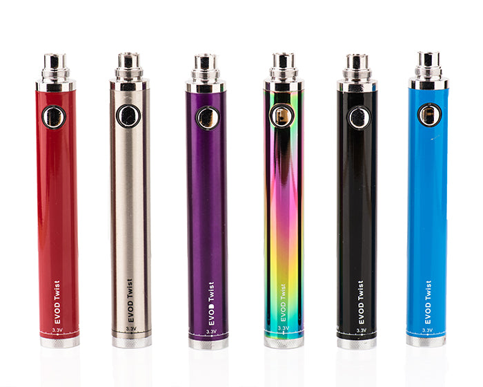 eVOD Twist Variable Voltage Battery - 1300mAh