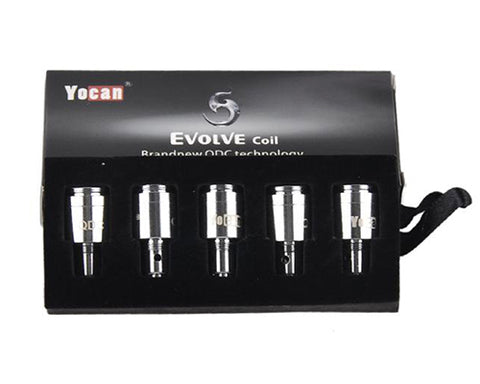 YoCan Evolve QDC Quartz Dual Coil (5 Pc)