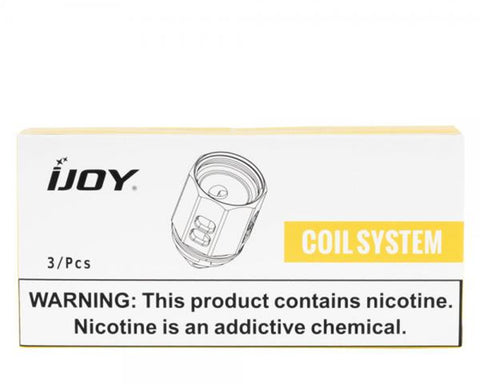 iJoy Shogun Jr. Mesh Coils (3 Pc)