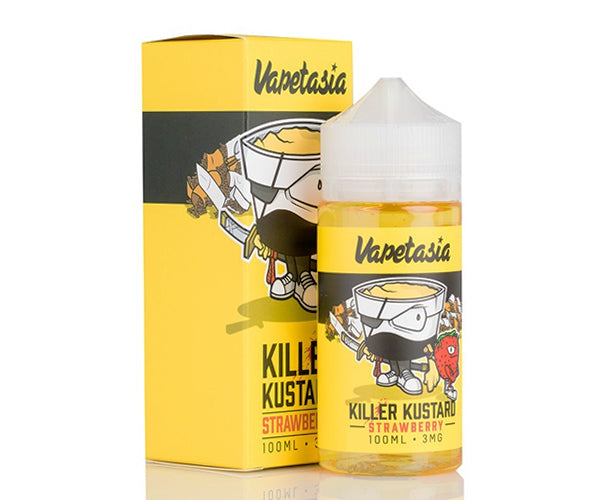 Vapetasia - Strawberry Killer Kustard (100ml)