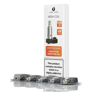 Lost Vape Orion Plus Replacement Coils - 0.25Ohm