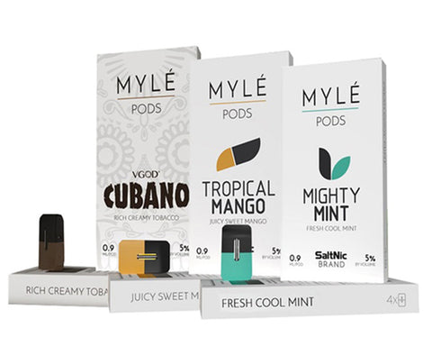 MYLE Replacement Pods (4 Pc)