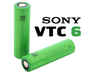 Sony VTC6 18650 3000mAh Batteries