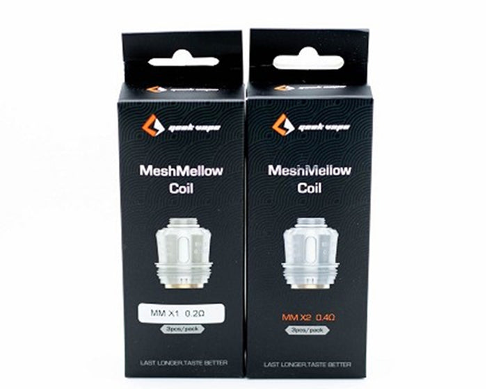 GeekVape Aegis MeshMellow Replacement Coils (3 Pc)