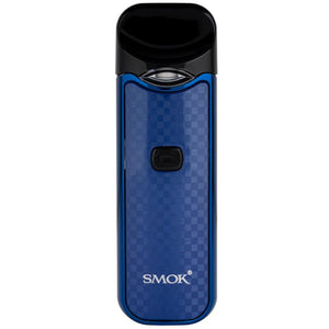 SMOK Nord All In One Pod Starter Kit -  CARBON fiber - Blue