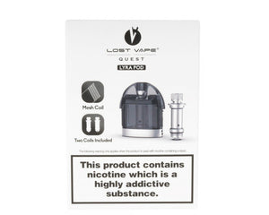 Lost Vape Lyra Replacement Pod w/ 2 Coils