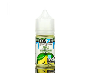 7 Daze Salt - Reds' Apple Watermelon ICED (30ml)