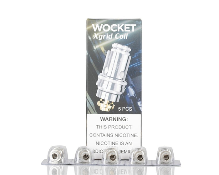 SnowWolf WOCKET X-Grid Replacement Coils (5 Pc)