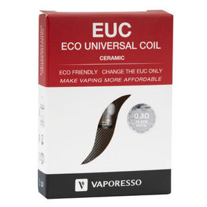 Vaporesso EUC Replacement Coil - 0.3ohm EUC SS Ceramic