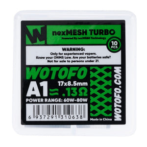 Wotofo nexMESH Coils - Turbo