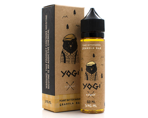 Yogi - Peanut Butter Banana Granola Bar (60ml)