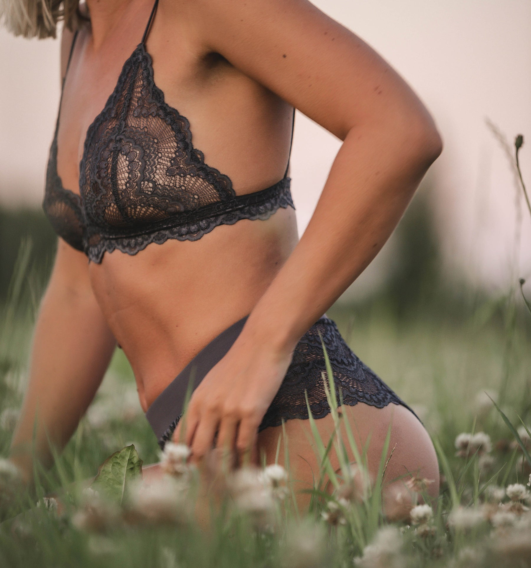 Mrs. Grey Lace Underwear