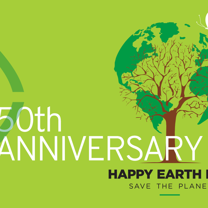 Happy Golden Anniversary Earth Day!