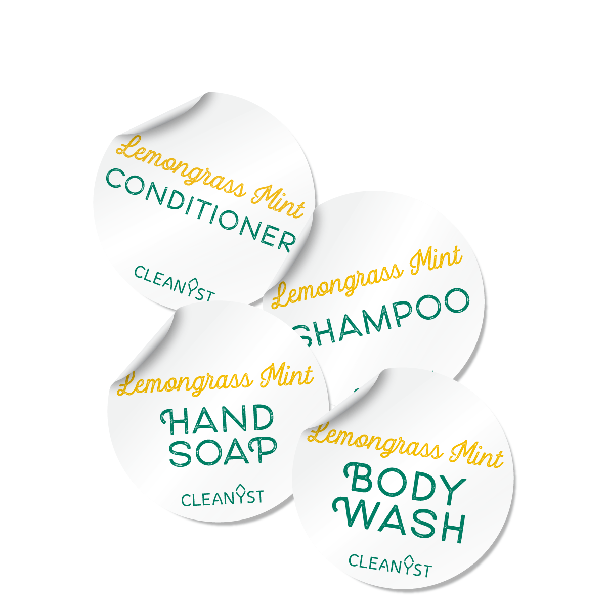 SCENTED BODY CARE LABELS