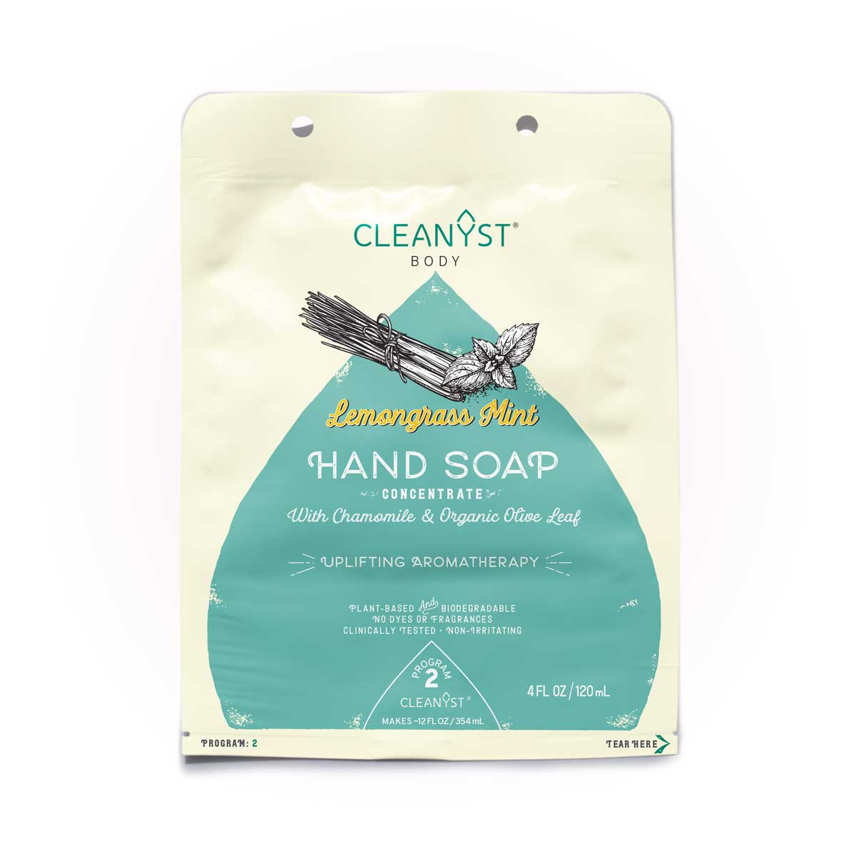 LEMONGRASS MINT HAND SOAP CONCENTRATE
