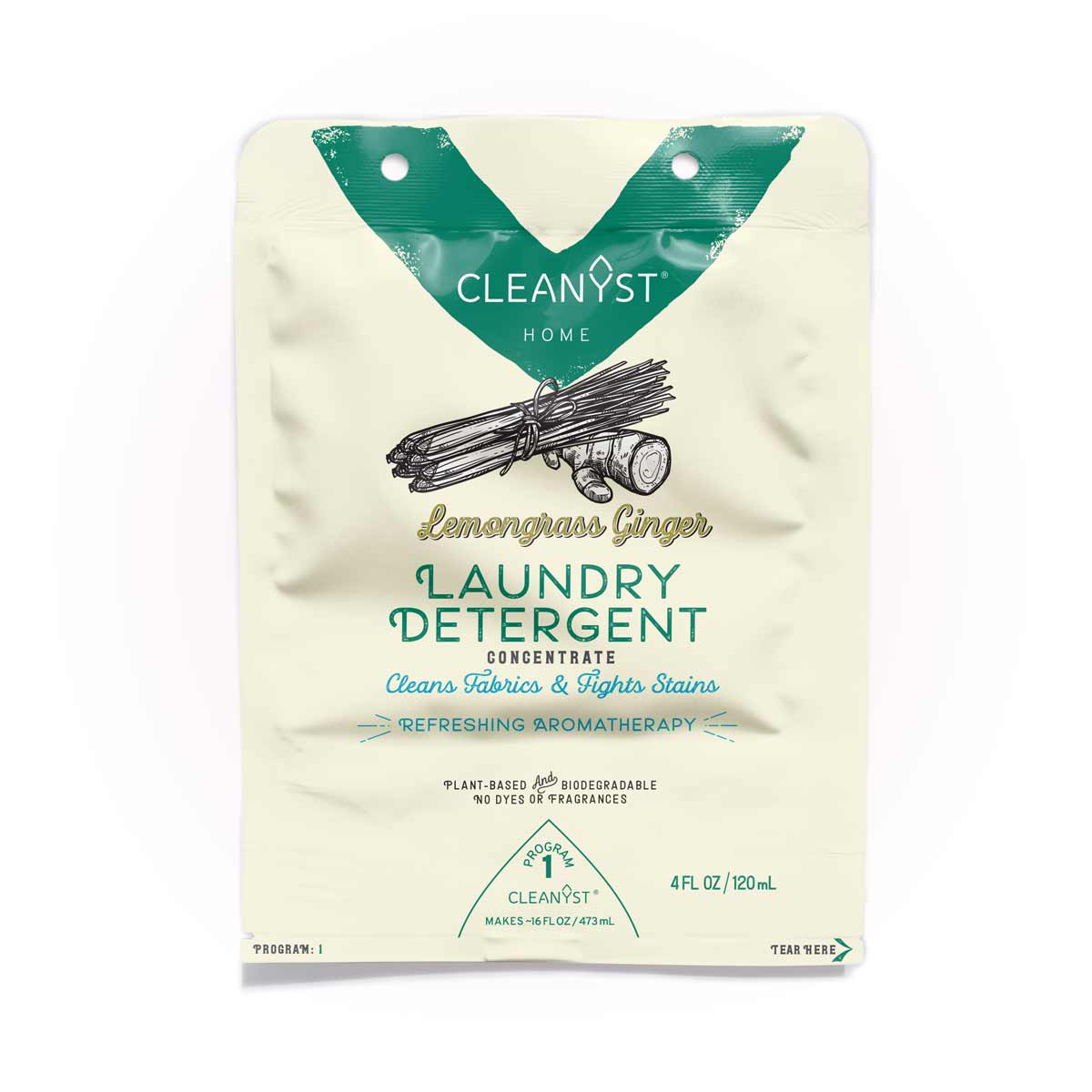 LEMONGRASS GINGER LAUNDRY DETERGENT CONCENTRATE