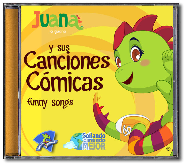 Juana la Iguana <br /> Canciones Cómicas <br />CD Descargable