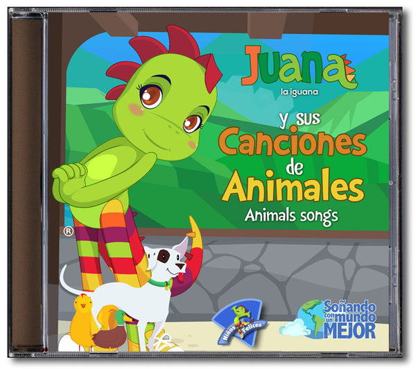 Juana la Iguana <br /> Canciones de Animales <br />CD Descargable