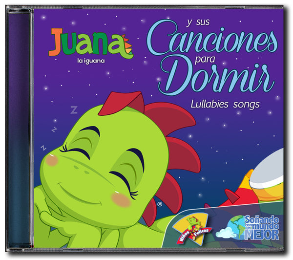 Juana la Iguana <br /> Canciones para Dormir <br />CD Descargable