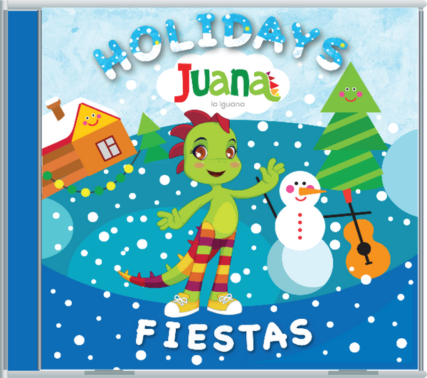 Fiestas Holidays with Juana la Iguana