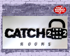 Catch22Rooms Sign