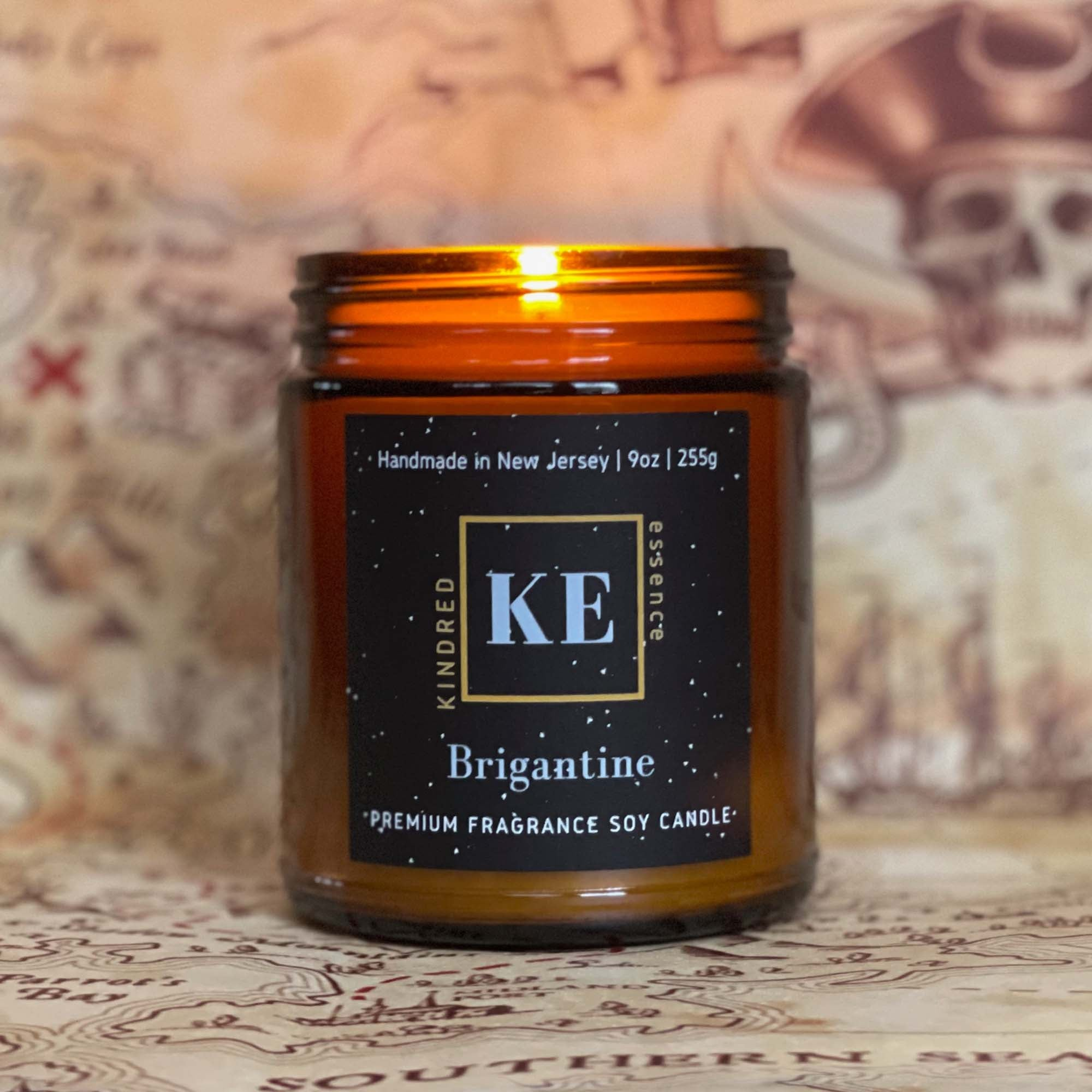 Brigantine Soy Candle - Behind the Name
