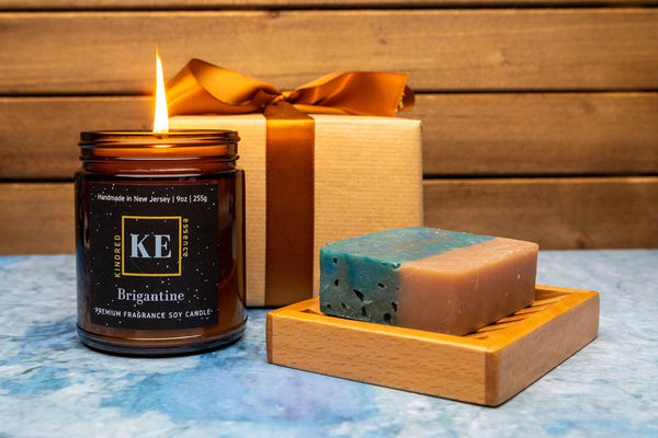 Brigantine Candle and Soap Gift Set